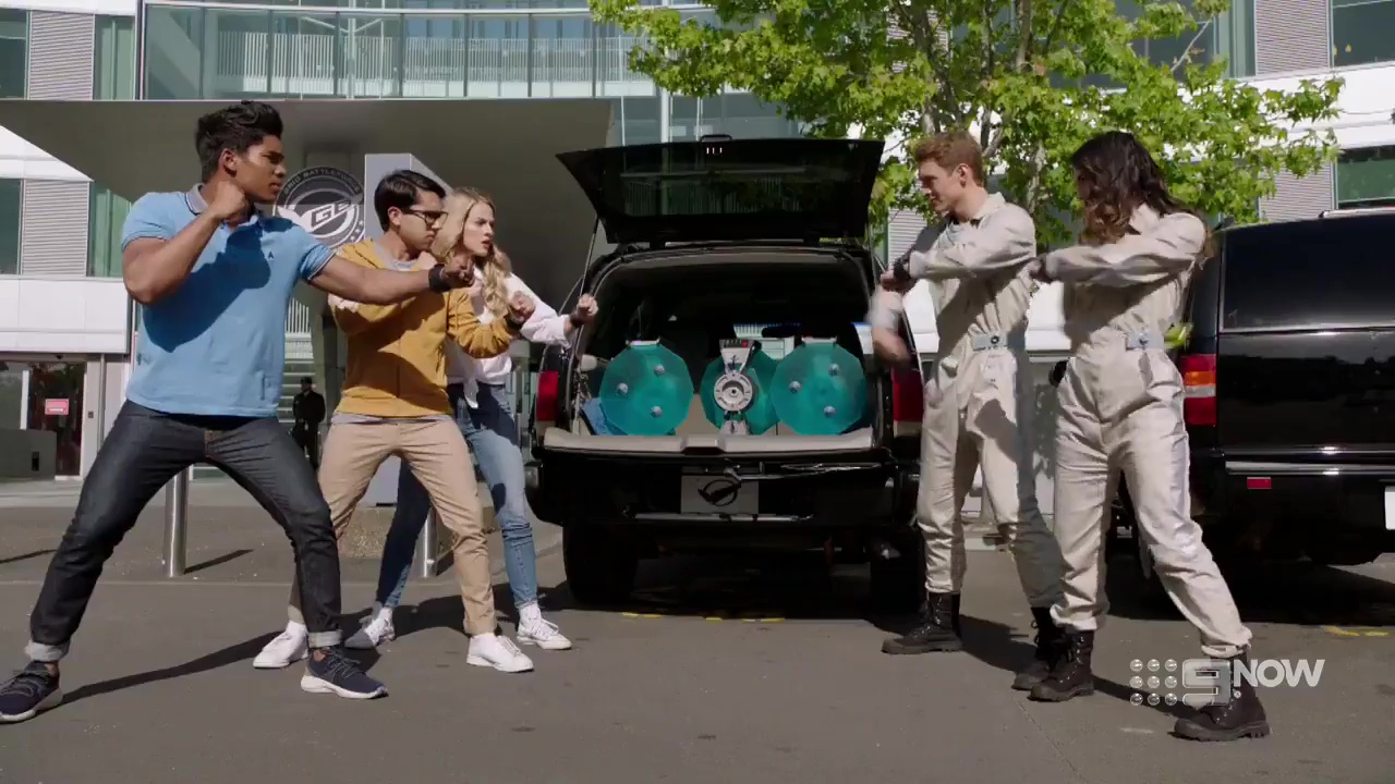 Power Rangers Beast Morphers Episode 18