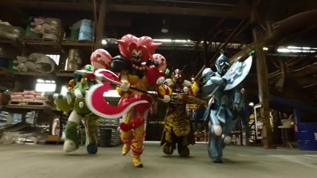 Power Rangers Beast Morphers Making Bad