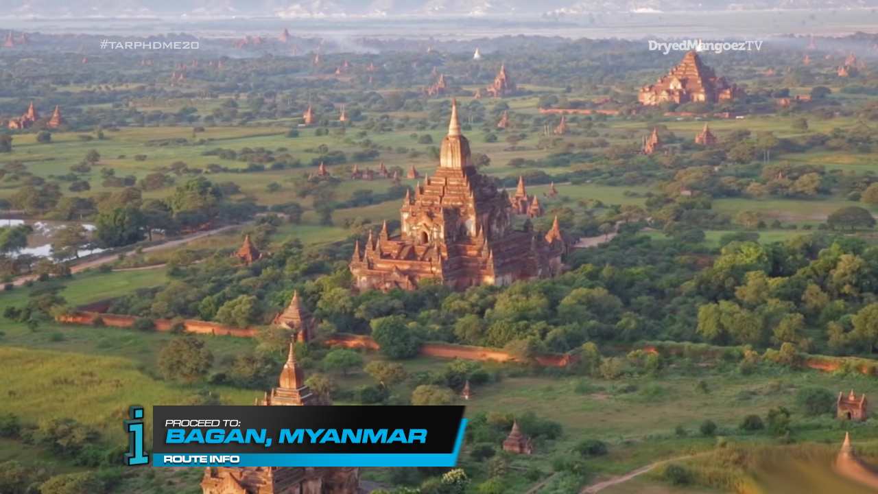 The Amazing Race Philippines vs Tche World (DryedMangoez Edition Season 20), Leg 3 – Myanmar
