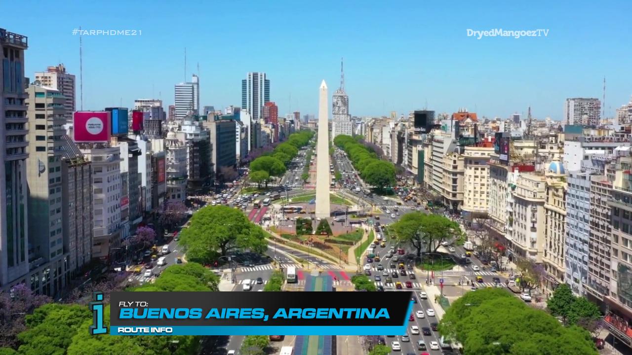 The Amazing Race Philippines: DryedMangoez Edition Season 21, Leg 11 – Argentina