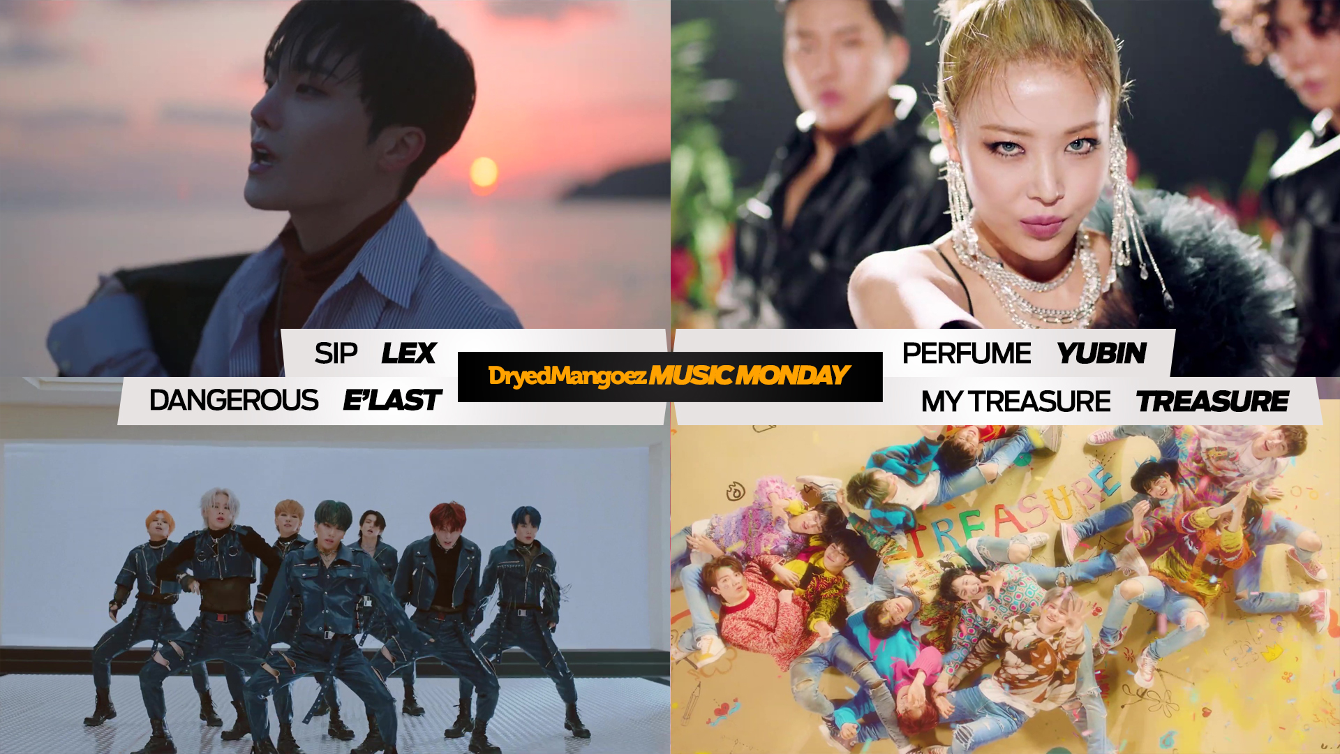 Music Monday, January 18, 2021 Extra – LEX (of BIGFLO), Yubin, E'LAST, TREASURE