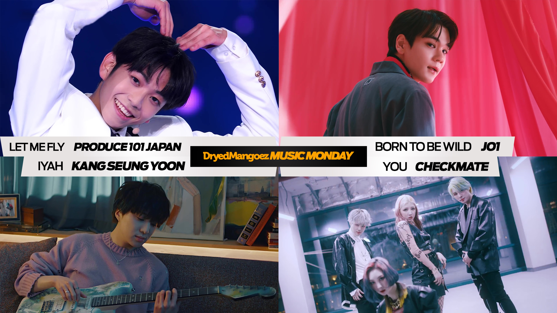 Music Monday, March 29, 2021 Extra – Produce 101 Japan Season 2, JO1, Kang Seung Yoon, CHECKMATE