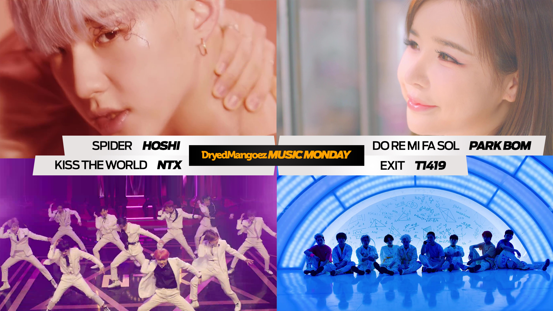 Music Monday, April 5, 2021 Extra – Hoshi, Park Bom, NTX and T1419