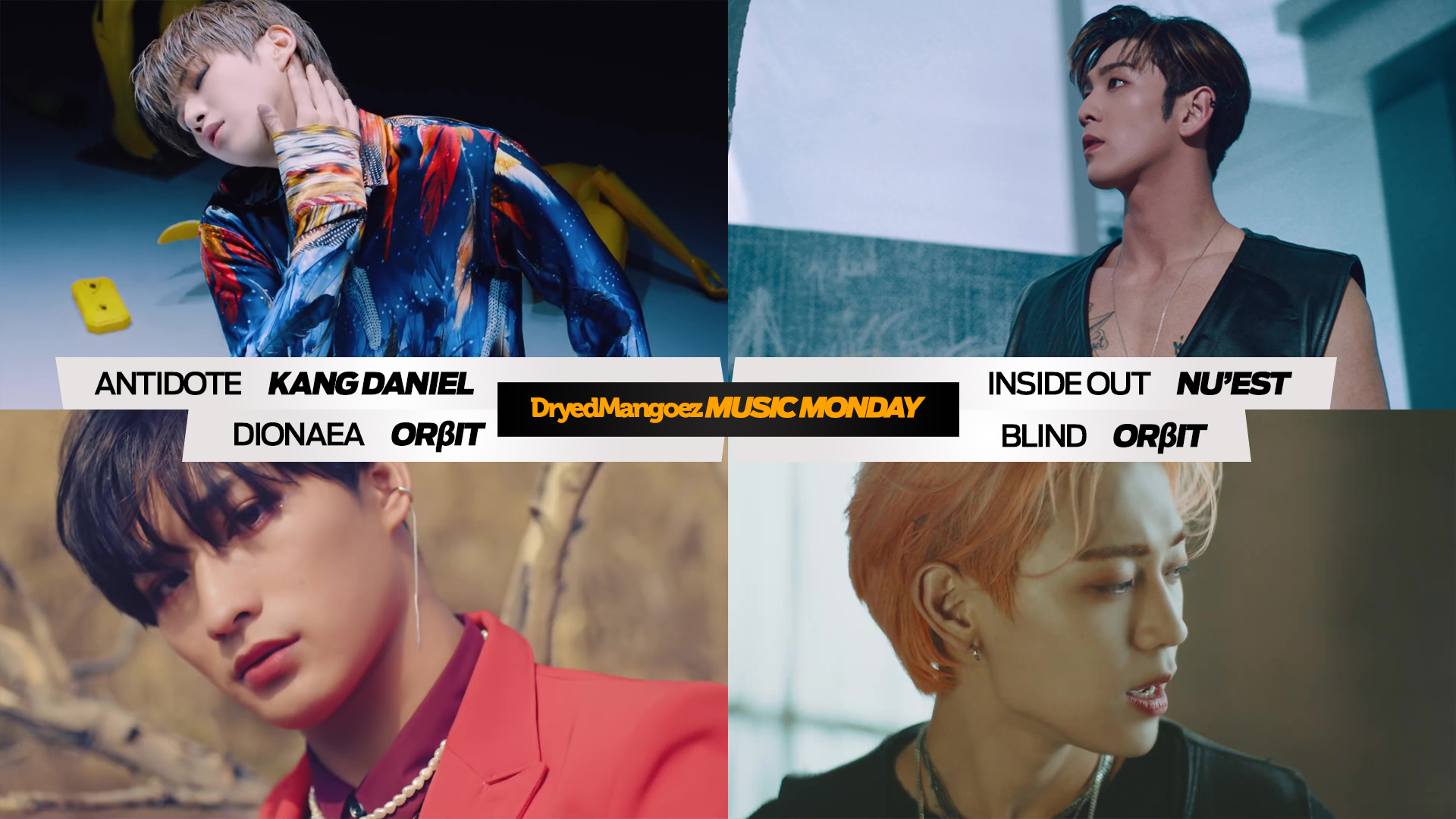Music Monday, April 19, 2021 – Four Incredible Tracks from Kang Daniel, NU'EST and ORBIT