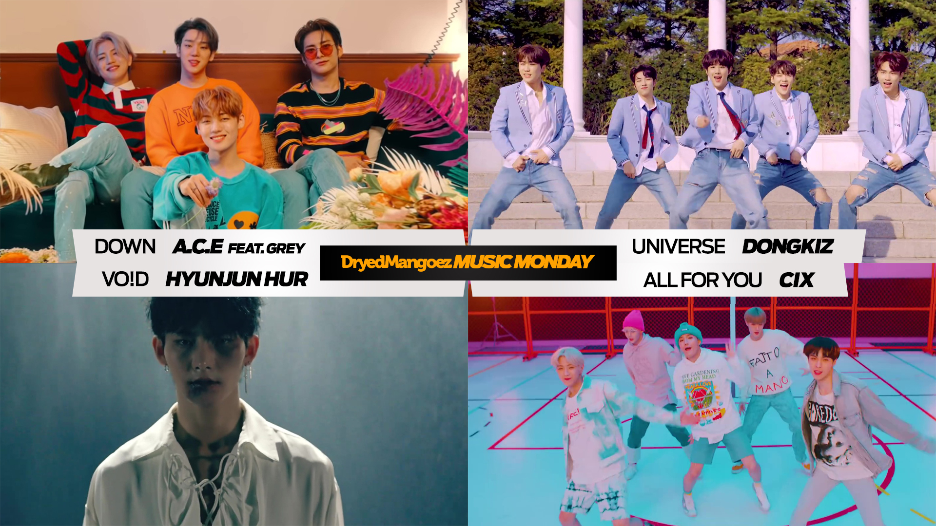 Music Monday, April 19, 2021 Extra – Four More Excellent Tracks for the Week from A.C.E, DONGKIZ, Hyunjun Hur and CIX!