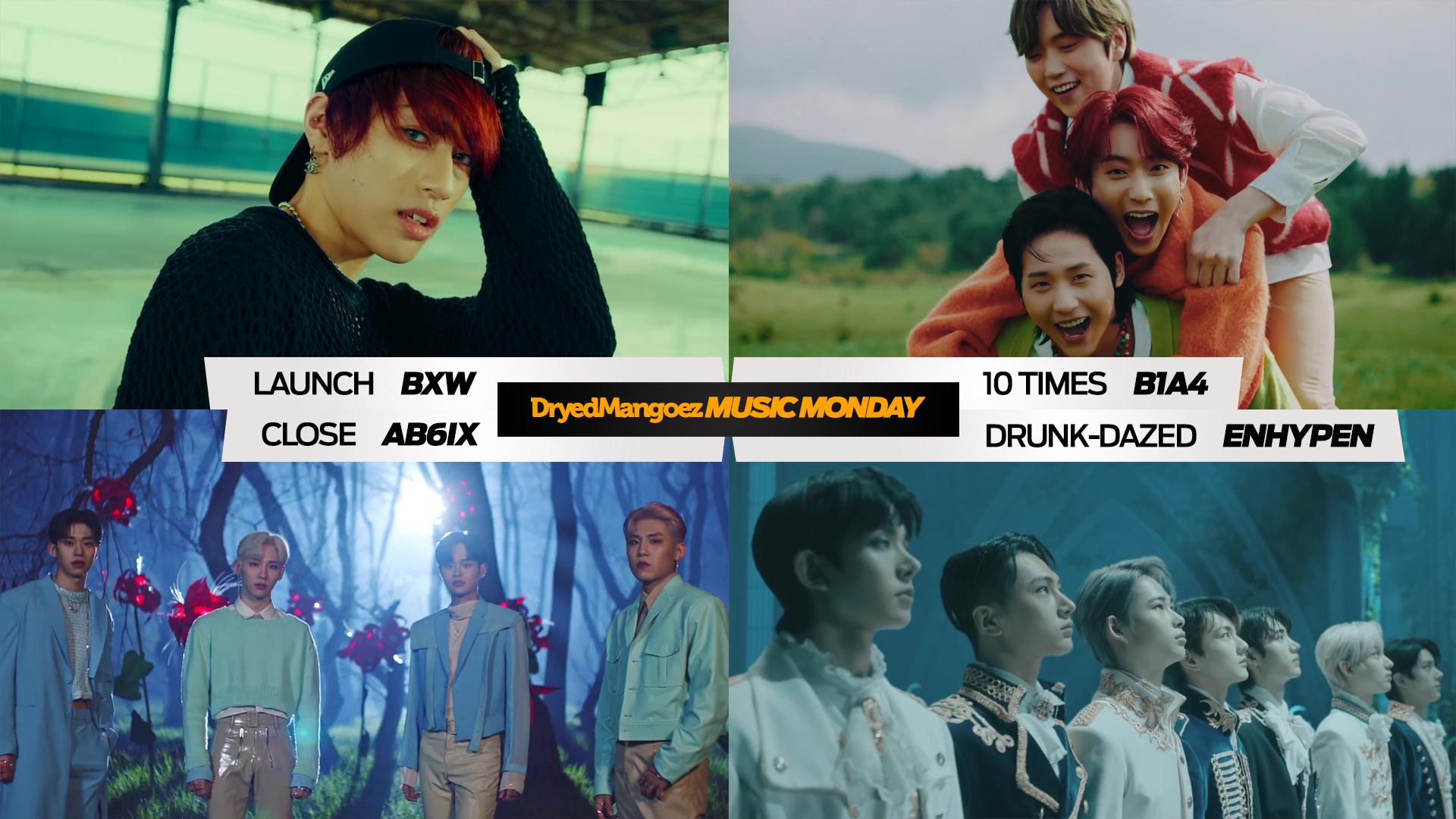 Music Monday, May 3, 2021 (Part 1) – B1A4, BXW, AB6IX, ENHYPEN