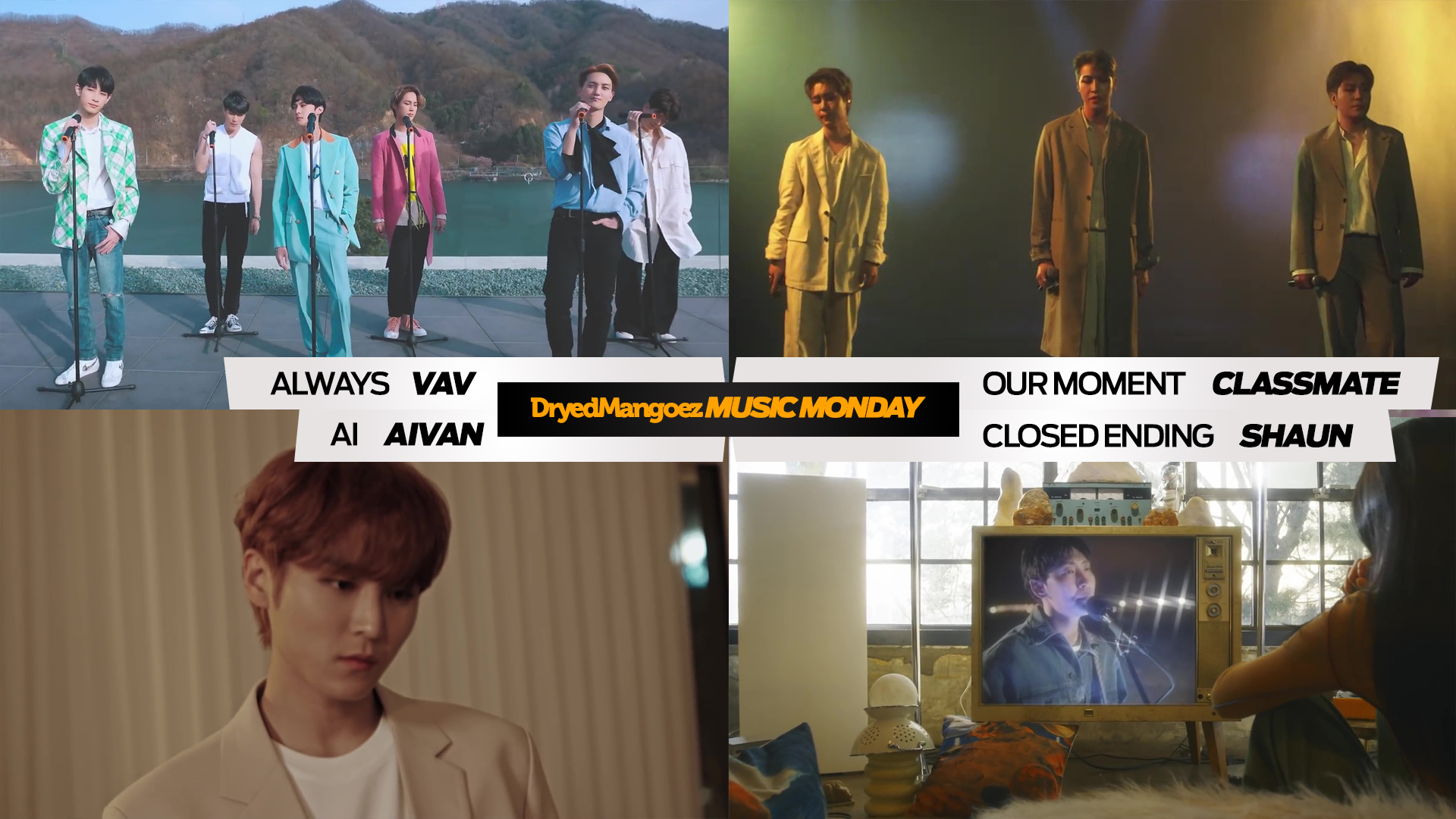 Music Monday, May 10, 2021 (Part 1) – Soothing Sounds for the Season from VAV, CLASSMATE, Aivan and Shaun