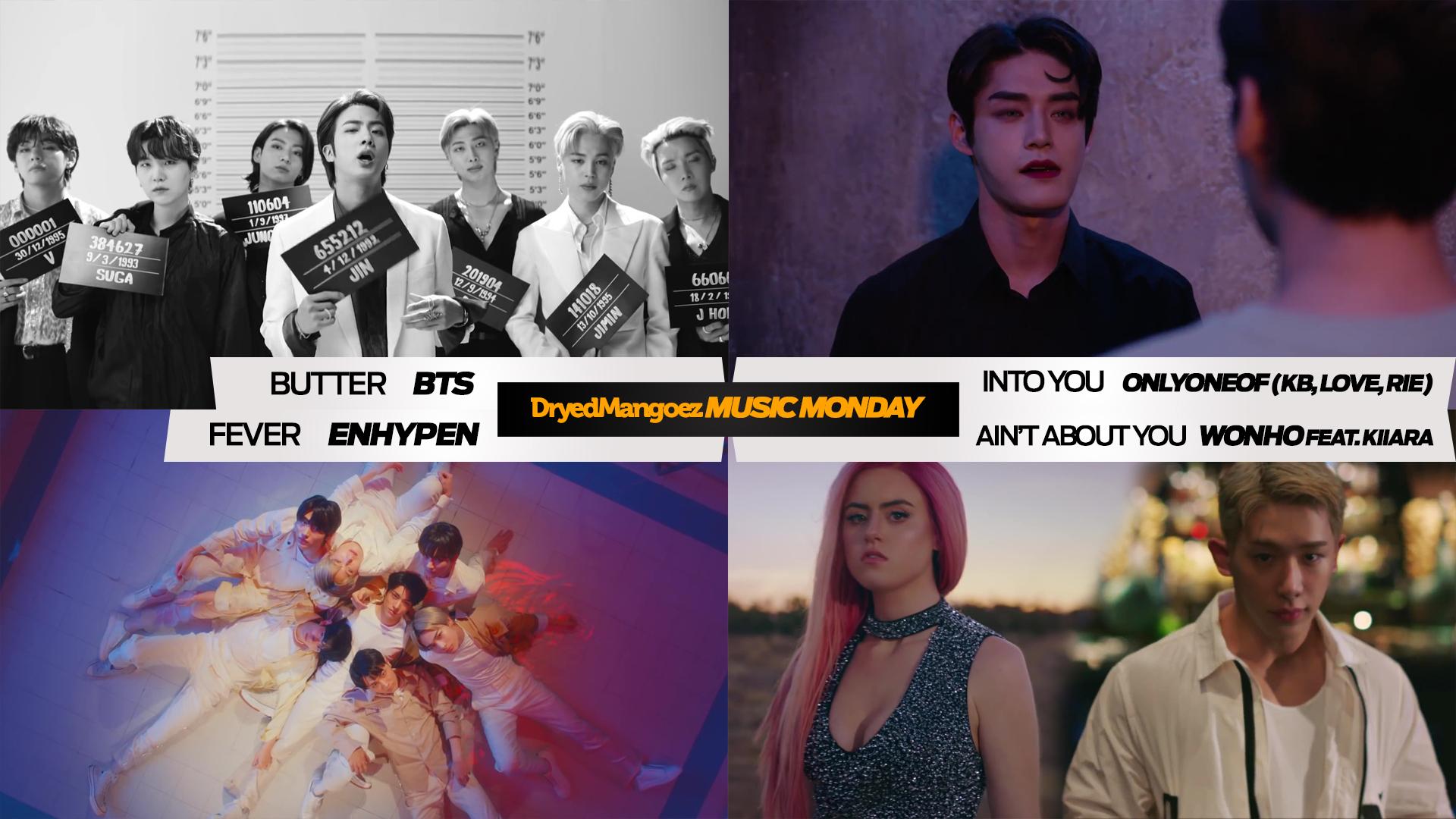 Music Monday, May 24, 2021 (Part 2) – BTS, OnlyOneOf, ENHYPEN, Wonho featuring Kiiara