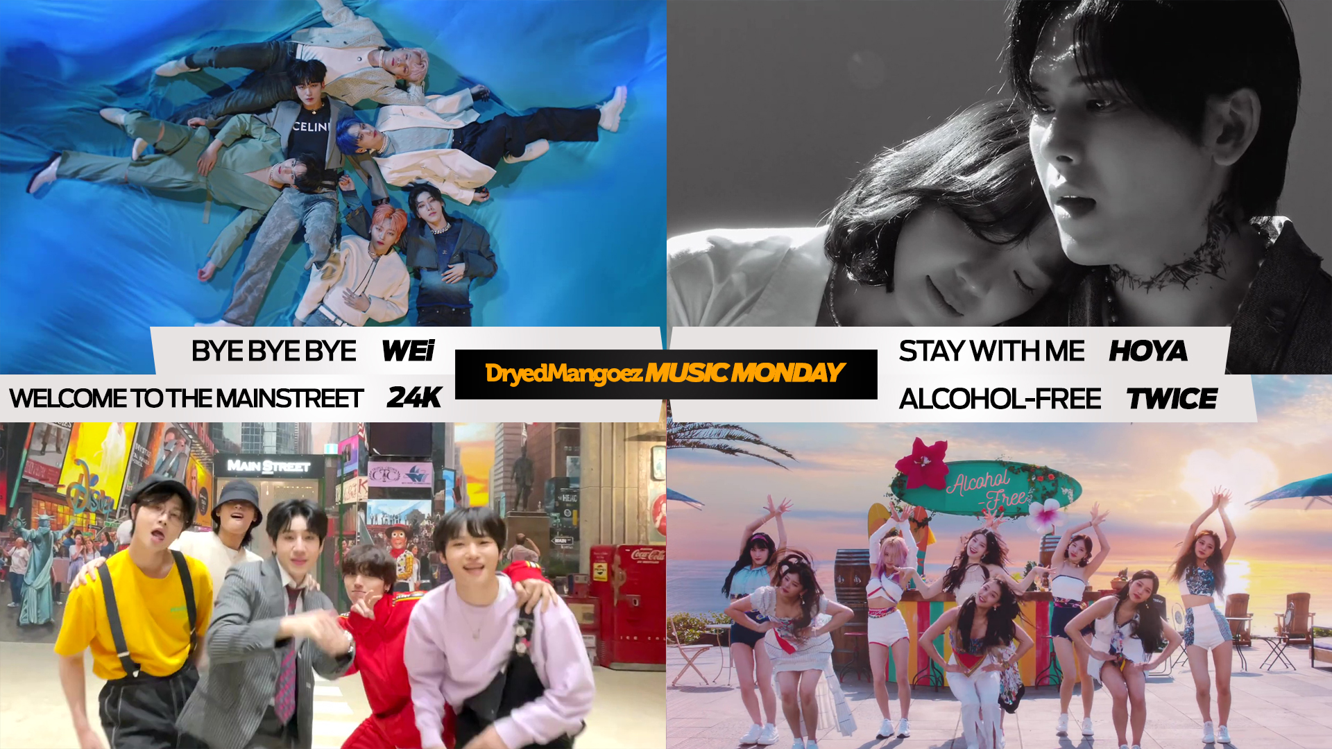 Music Monday, June 14, 2021 (Part 2) – Comebacks from WEi, Hoya, 24K and TWICE