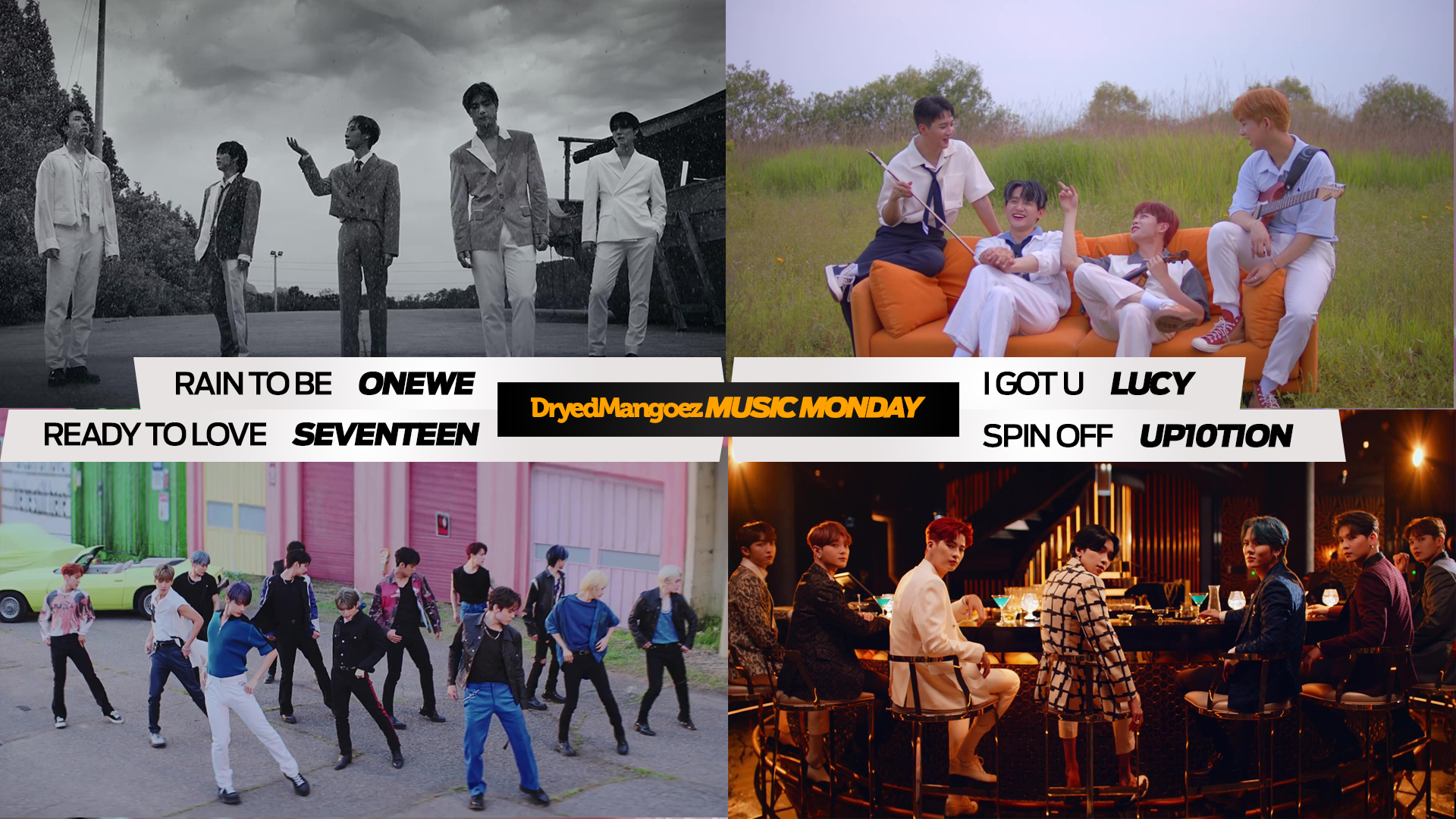 Music Monday, June 21, 2021 Extra – ONEWE, LUCY, SEVENTEEN, UP10TION
