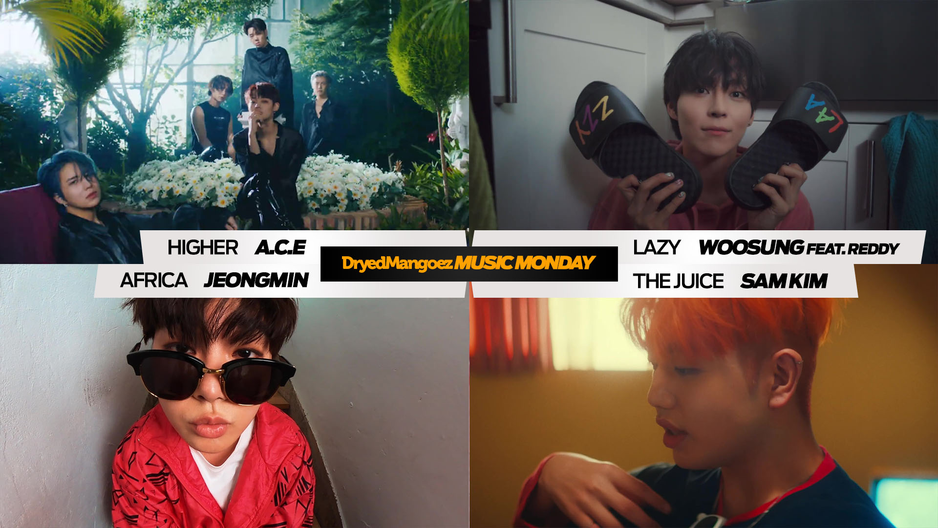 Music Monday, June 28, 2021 (Extra) – Break free with tracks from A.C.E, Woosung, Jeongmin and Sam Kim