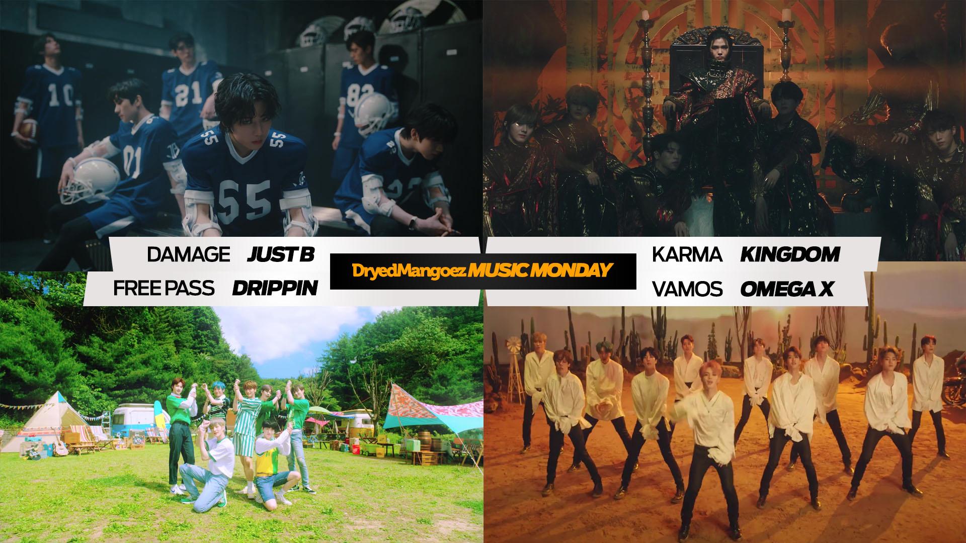 Music Monday, July 5, 2021 (Part 1) – Enjoy new tracks from super rookies JUST B, KINGDOM, DRIPPIN, OMEGA X