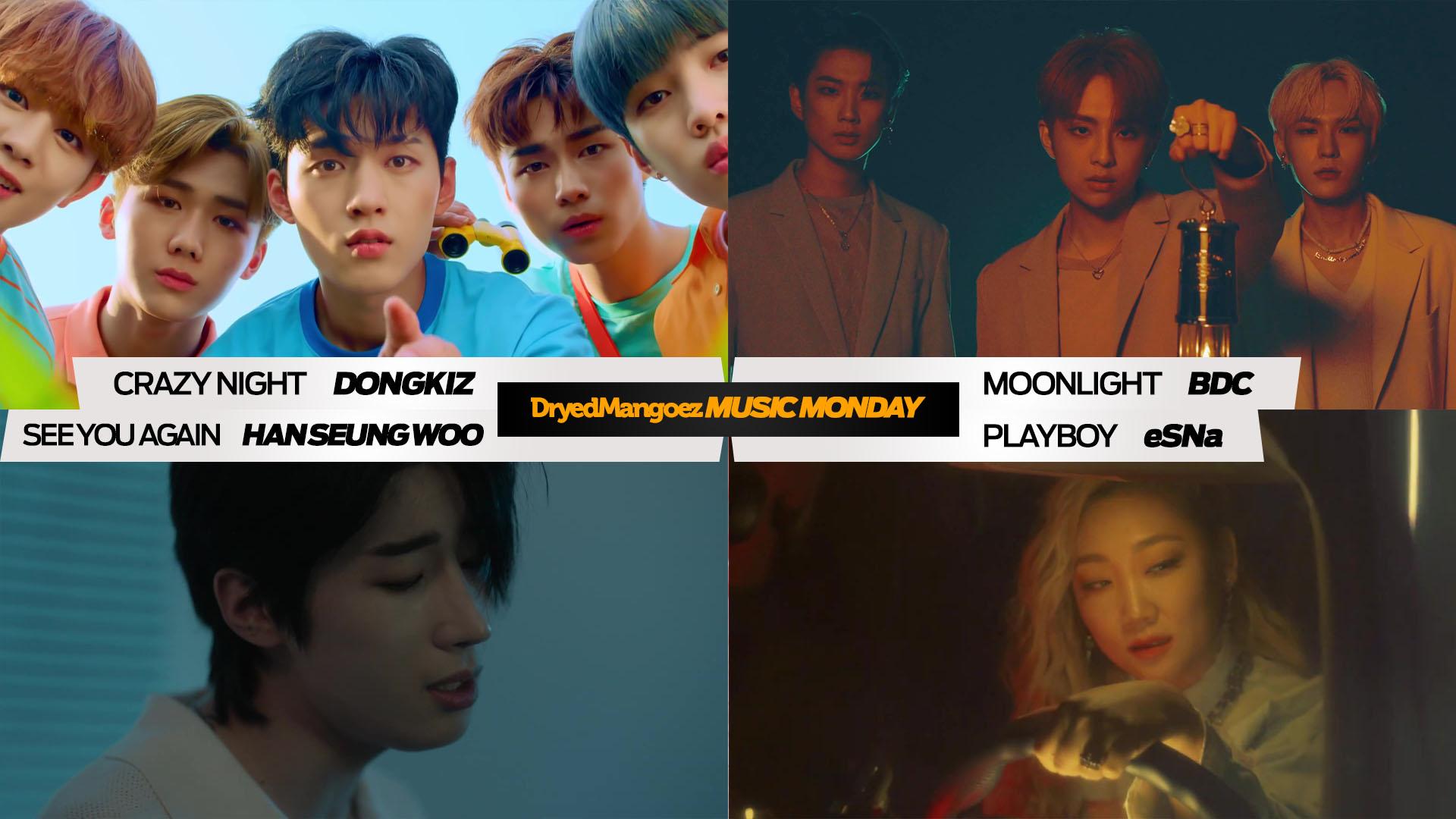 Music Monday, July 5, 2021 (Part 2) – Great comebacks from DONGKIZ, BDC, Han Seung Woo, eSNa