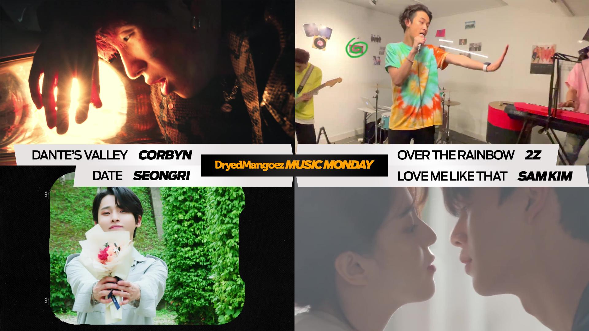 Music Monday, July 26, 2021 – Excellent tracks from CORBYN, 2Z, Seongri, Sam Kim