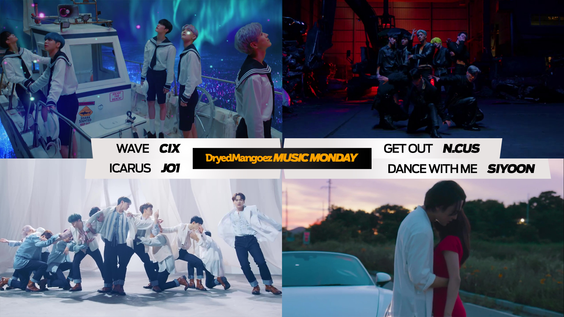 Music Monday, August 16, 2021 (Extra) – CIX, N.CUS, JO1, Siyoon