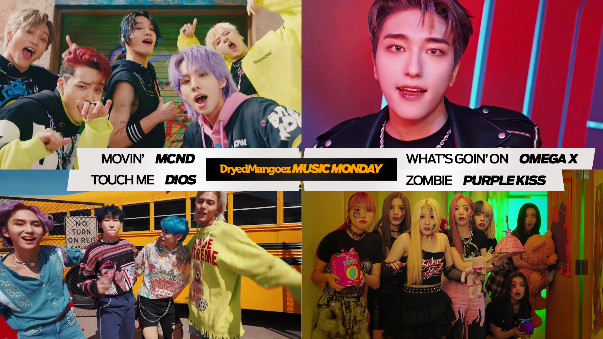 Music Monday, September 13, 2021 (Part 2) – MCND, OMEGA X, DIOS, Purple Kiss