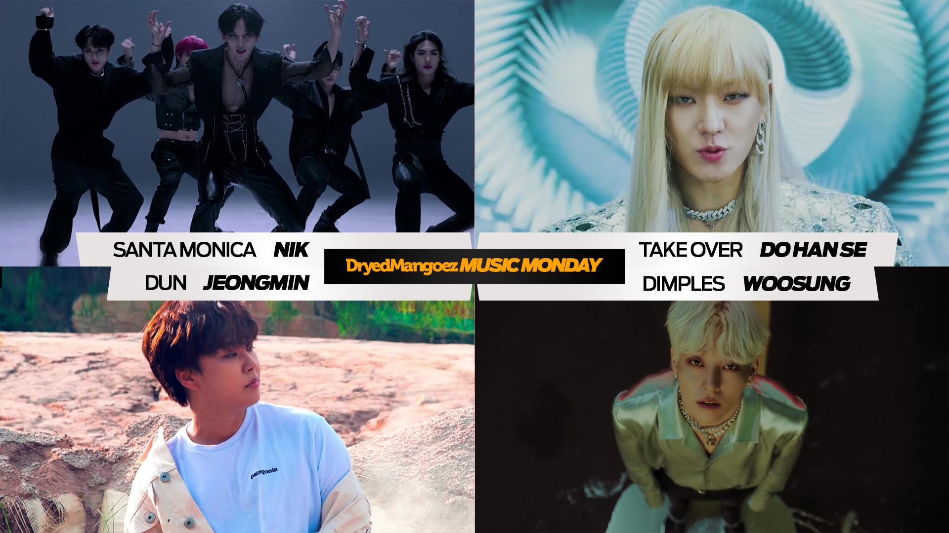 Music Monday, September 26, 2021 – NIK, Do Han Se, Jeongmin, Woosung