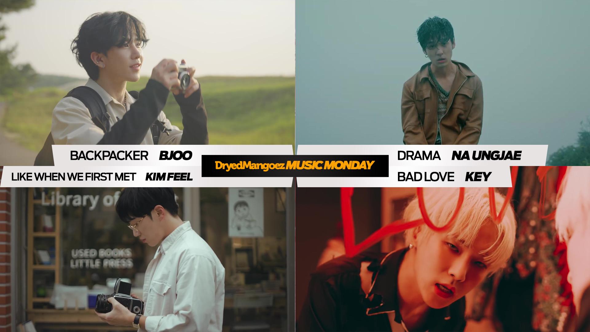 Music Monday, October 4, 2021 – BJOO, Na Ungjae, Kim Feel, Key