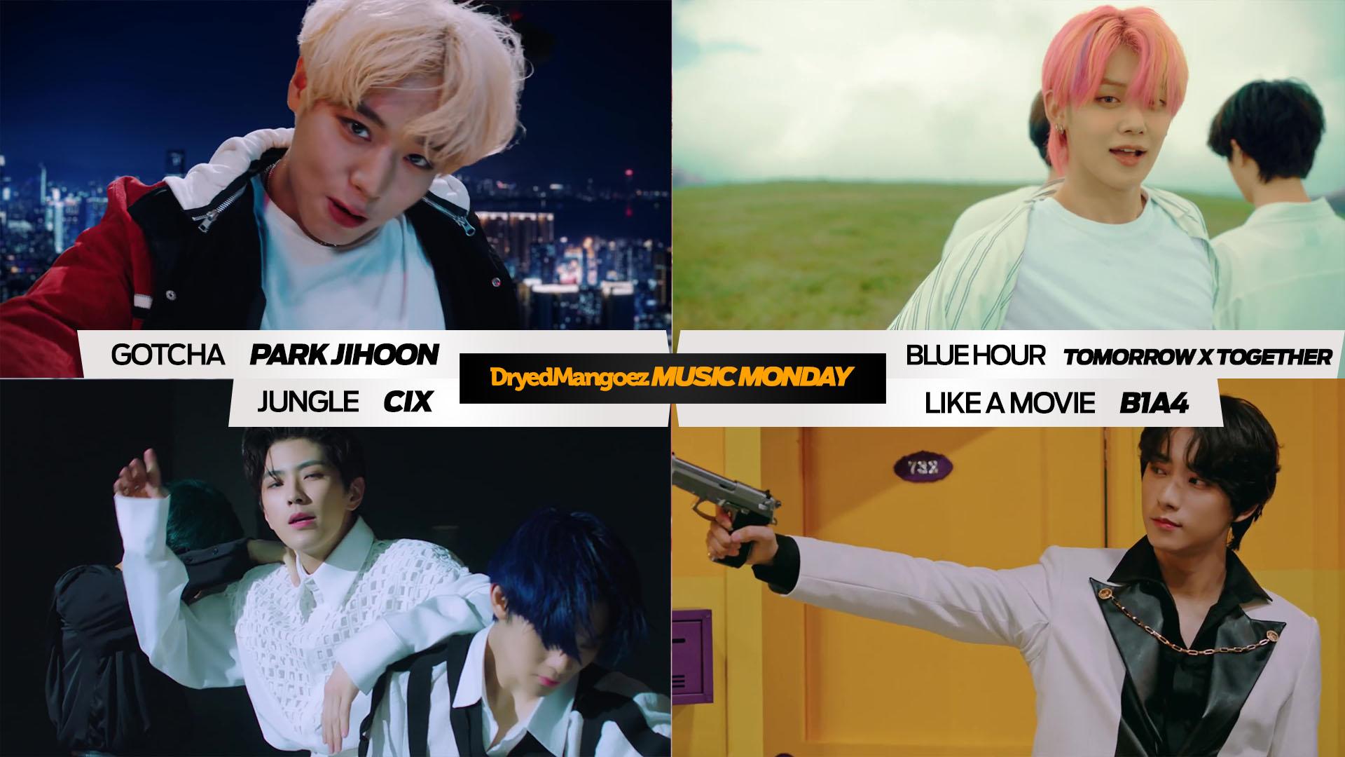 Music Monday, November 9, 2020 – Repeat Worthy Comebacks from Park Jihoon, Tomorrow X Together, CIX, B1A4