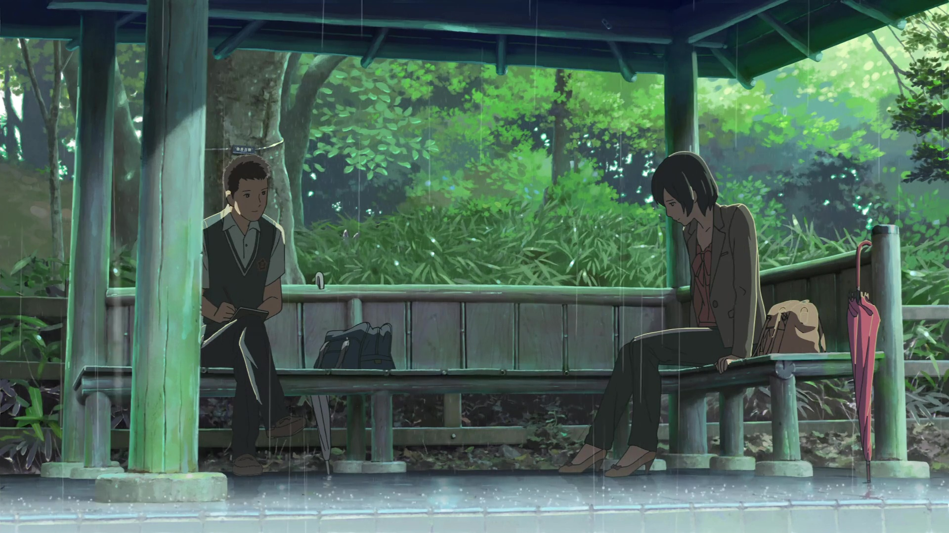 "Good Ol' Review: ""The Garden of Words"" is Definitely One of Makoto Shinkai's Best"