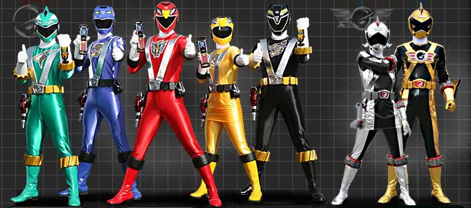 Power Rangers Now