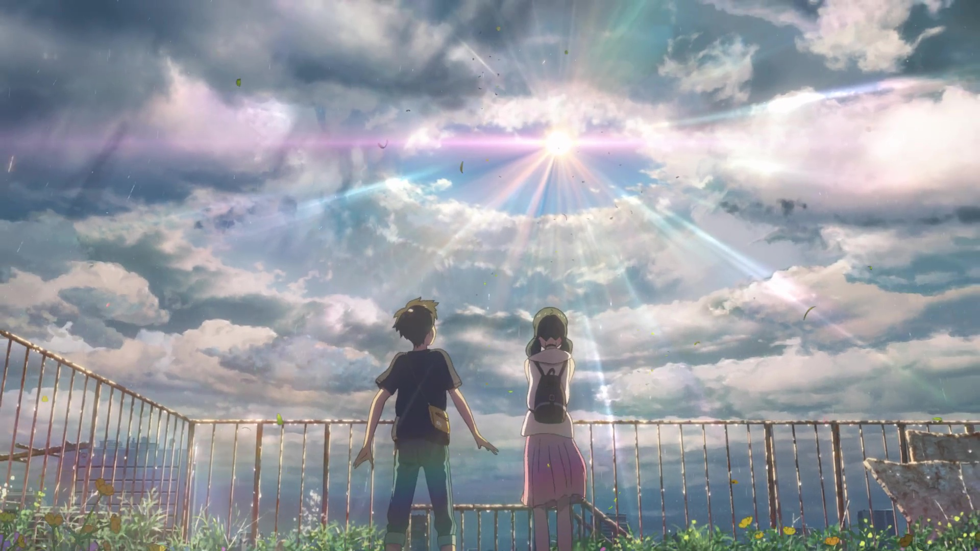 "Good Ol' Review: Makoto Shinkai's Visually Stunning ""Weathering With You"" Stumbles"